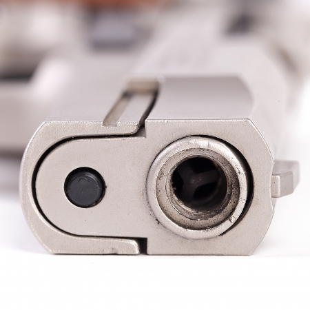 full metal jacket: pistol police revolver firearm crime protect sport aggression war rampage terror