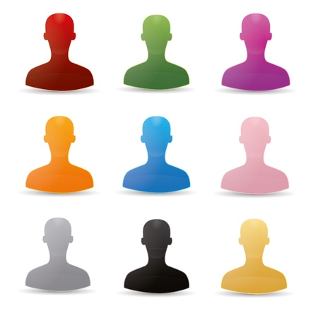 Figure chat network social community teamwork communal chat forum service marketing partner Stock Vector - 16220340