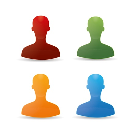 Figure chat network social community teamwork communal chat forum service marketing partner Stock Vector - 16220336