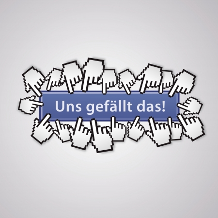 mauszeiger: we like the community group mauszeiger social network business internet link like me