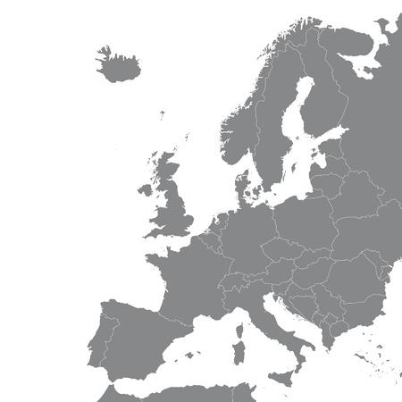 europe schengen agreement brussels belgium euro geo card map silhouette cartography plan