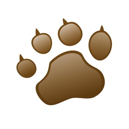 sniff: Animal Paw pet wolf paw paw bear footprint claws paw cat paw fingerprint impression