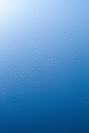 Water drops beading nano effect