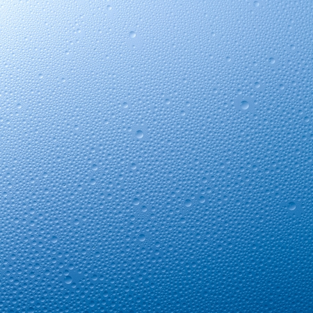 humidity: Water drops beading nano effect