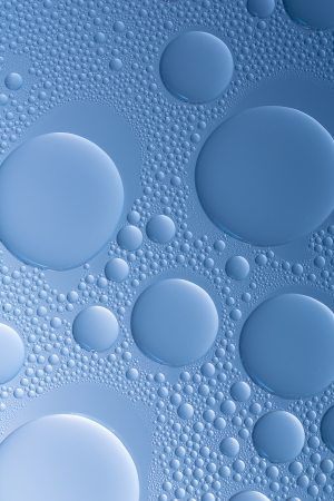 bionics: Water drop dew drop effect nano effect  Stock Photo