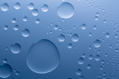 bionics: Water drops beading nano effect