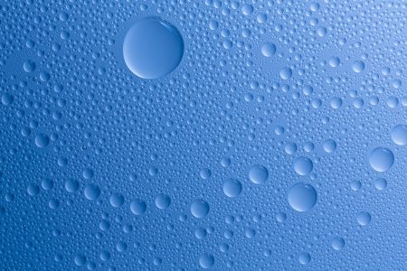 self sealing: Water drops beading nano effect