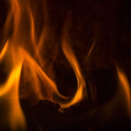 embers: chimney smoke fire flame burn energy cozy winter firewood chimney pattern black Stock Photo