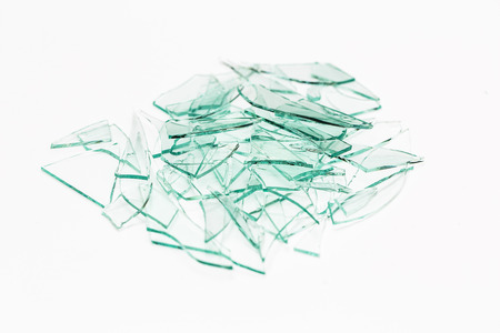 trampled: glass heap glassbreak glass crack damage splinter broken shards theft burglar accident
