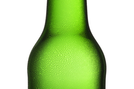bottleneck: Beer bottle bottleneck condensation dripping green chilly dew beer froth brewery disco summer party
