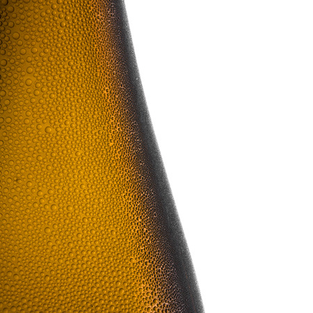 bottleneck: Beer bottle bottleneck condensation dripping brown chilly dew beer froth brewery disco summer party