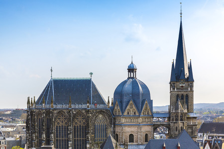 Aachen Aachener Dom Aix-la-Chapelle