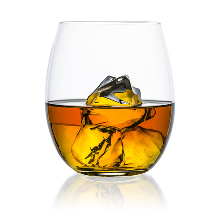 bourbon: whiskey ice-free glass plate isolated bourbon rocks scotland alcoholic spirit tennessee