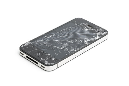 Iphone 4 4s glass break broken screen repair mobile phone display damage insurance