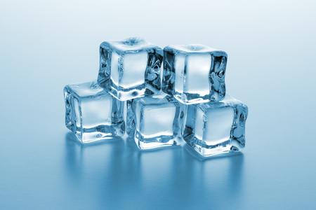heap: heap of cold ice cubes