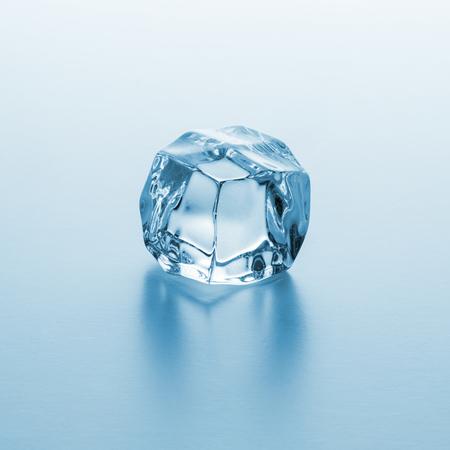icecubes: single ice cube on gradient background