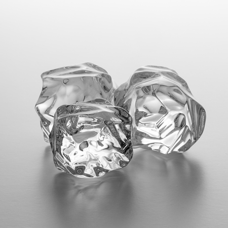 icecubes: group of three ice rocks