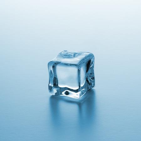 icecubes: single ice cube Stock Photo