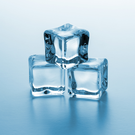 icecubes: Pile of three ice cubes