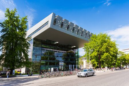 technically: RWTH Aachen University building in Germany Editorial
