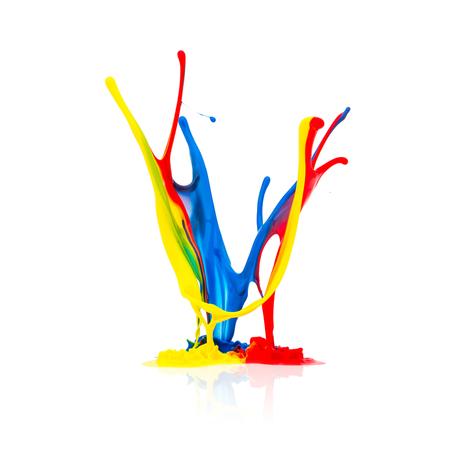 splash: paint splash in different colors