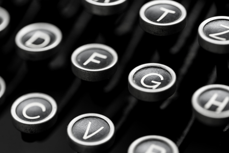 grope: Keys from a old typewriter