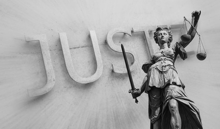 parole: Lady of Justice (Justitia), Germany