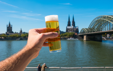 Tra?di?tio?nal beer (Kölsch) from Cologne Germany