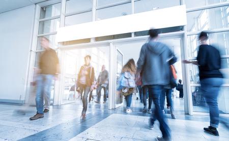 wereldhandel consumentenbeurs entrance Stockfoto