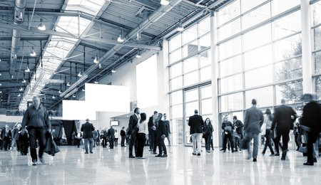 European Trade Fair stock photo Archivio Fotografico