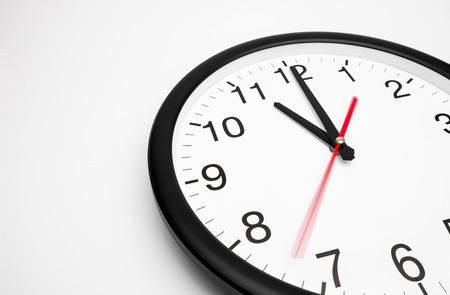 analogous: clock-face