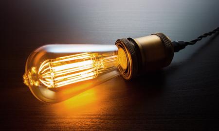 Edison Lightbulb Stok Fotoğraf - 77828817