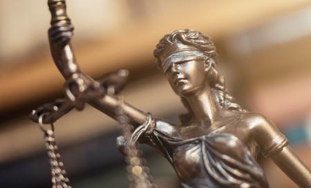 Statue of Justice - Lady Justice or Iustitia