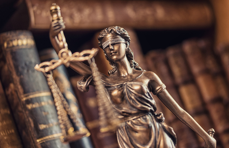 Legal justice concept image - Lady Justice Statue