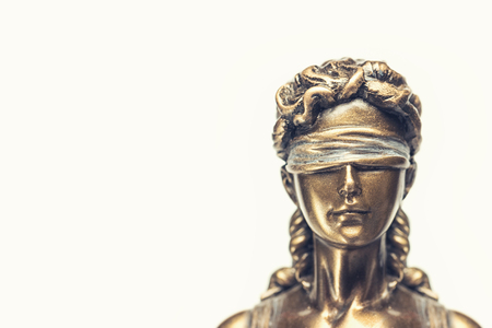 blind lady justice or Iustitia  Justitia the novel goddess of justice