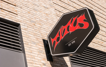 COLOGNE, GERMANY OCTOBER, 2017: Logo of Titus on a store front. Titus is shop for Skateshop and Streetwear and was founded 1978 by Titus Dittmann in Münster germany. Editorial