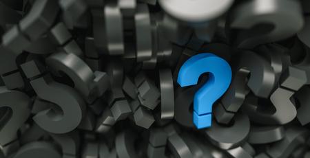 blue question marks on a background Banco de Imagens