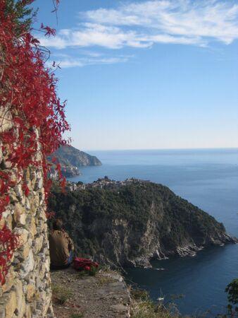 terra: Corniglia - Cinque Terra, Italy Stock Photo