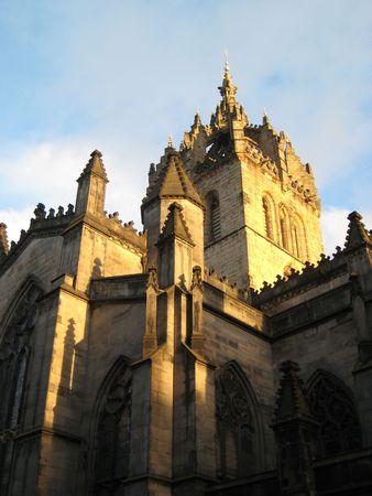 聖ジャイルズ大聖堂 写真素材