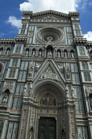 sanctified: The Duomo, central cathedral of Florence, Italy.