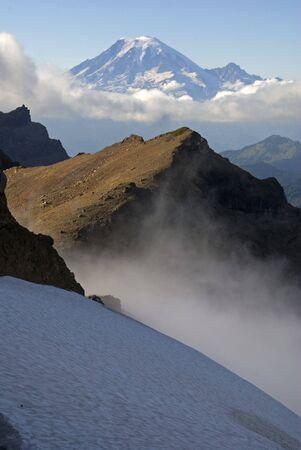 mt rainier: Mt. Rainier, seen from Goat Rocks Wilderness.