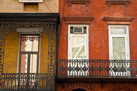 Old brick apartment buildings in a big city. Stock Photo - 4809749