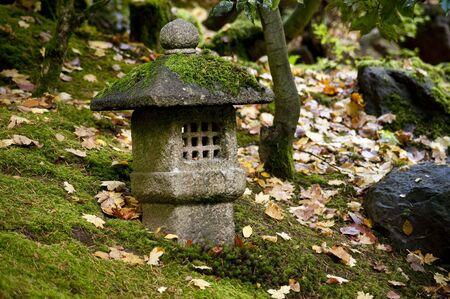 Autumn, Japanese Garden, Portland, Oregon photo