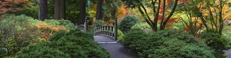 Autumn in the Japanese Garden, Portland, Oregon