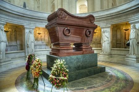 invalides: Napoleons tomb at Les Invalides, Paris, France