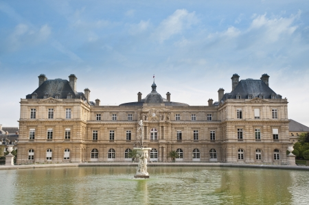 the senate: Luxembourg Palace, Paris, home of French Senate