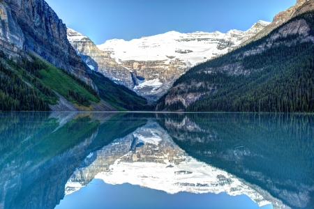 louise: Lake Louise in Banff National Park, Canada
