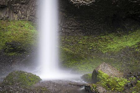 Latourell Falls, Columbia River Gorge, Oregon photo
