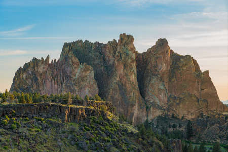 Smith rock State Park in Oregon at sunrise