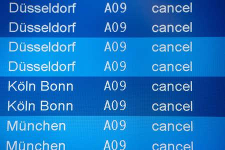 Strike at Lufthansa - UFO, Berlin Tegel Airport, Friday, 07 09 2012